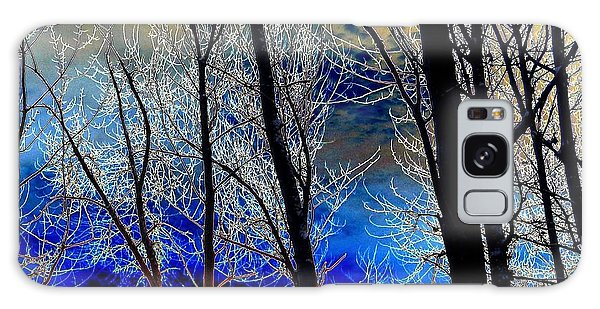 Moonlit Frosty Limbs Galaxy Case