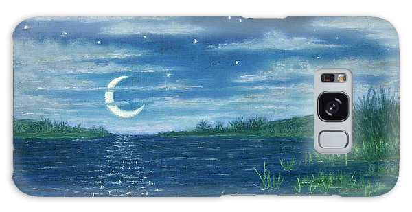 Moonlit Lagoon Galaxy Case