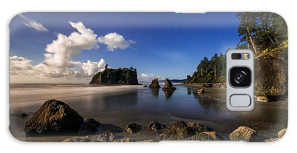 Olympic National Park Galaxy Case - Moonlit Ruby by Chad Dutson