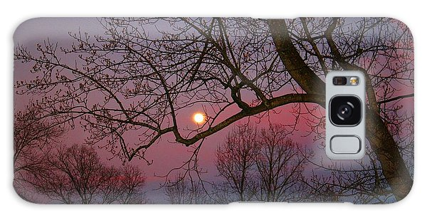 Moonrise Galaxy Case