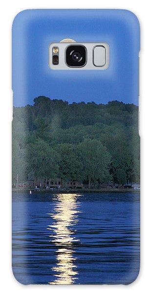 Reflections Of Luna Galaxy Case by Richard Engelbrecht
