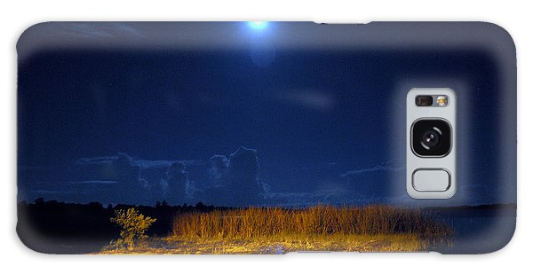 Moonrise Over Rochelle - Landscape Galaxy Case