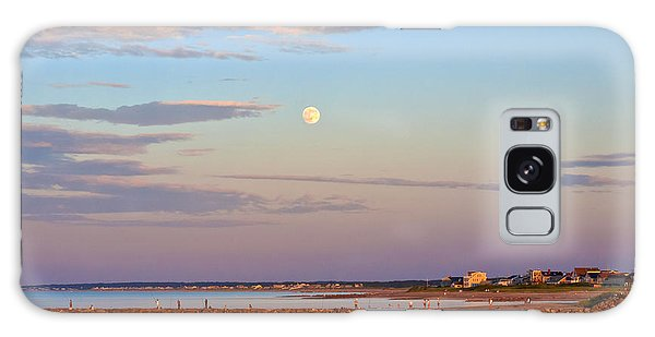 Moonrise Over Sandwich And Canal Galaxy Case