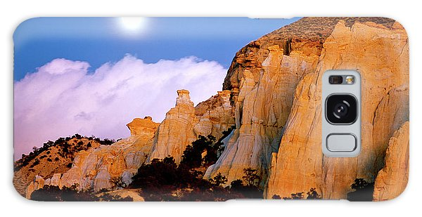 Moonrise Over The Kaiparowits Plateau Utah Galaxy Case