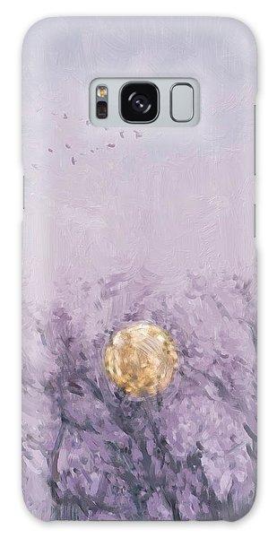 Moonset Dawn Galaxy Case
