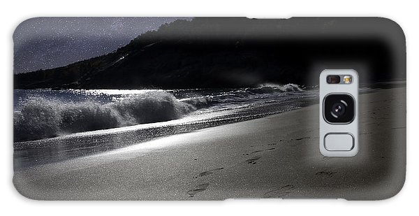 Moonshine Beach Galaxy Case by Brent L Ander