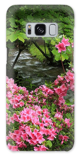 Moonshine Creek Rhododendron Bloom - North Carolina Galaxy Case by Mountains to the Sea Photo