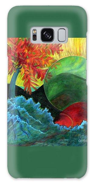 Moonstorm Galaxy Case by Elizabeth Fontaine-Barr