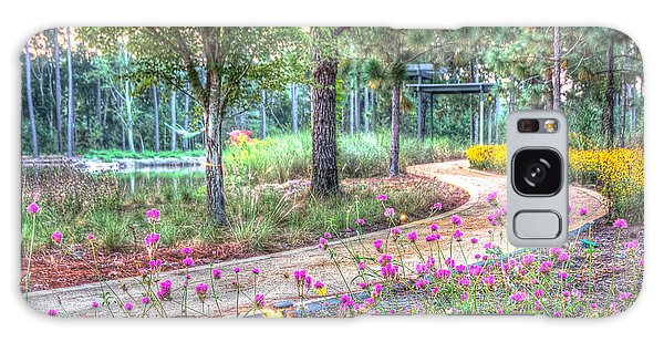 Moore Garden Stroll Galaxy Case