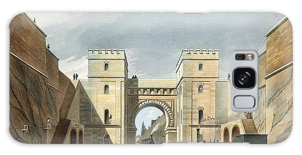 Trains Galaxy Case - Moorish Arch, Looking From The Tunnel by Thomas Talbot Bury