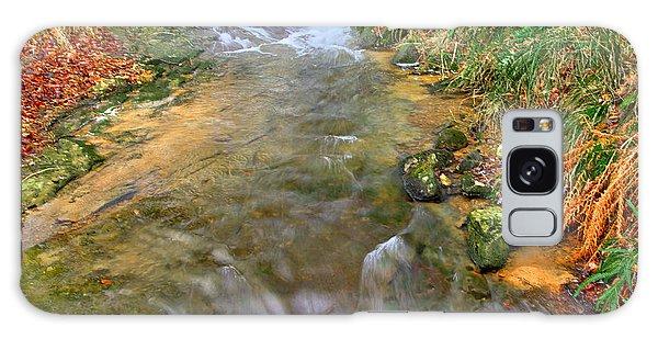 Moorland Stream Galaxy Case