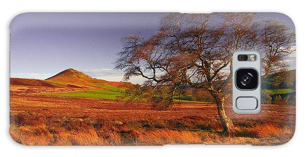 Moorland Tree North Yorkshire Galaxy Case