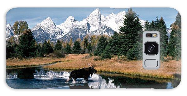 Teton Range Galaxy Case - Moose & Beaver Pond Grand Teton by Panoramic Images