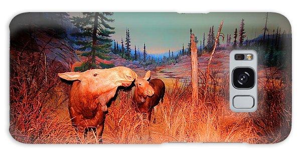 Moose ..algonkian Galaxy Case by Larry Trupp