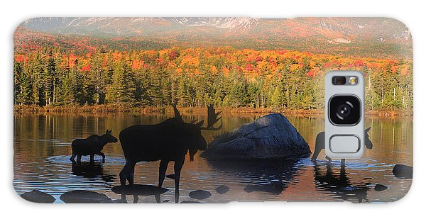 Moose Family Scenic Galaxy Case