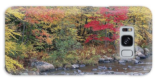 Moose River Autumn Galaxy Case by Alan L Graham