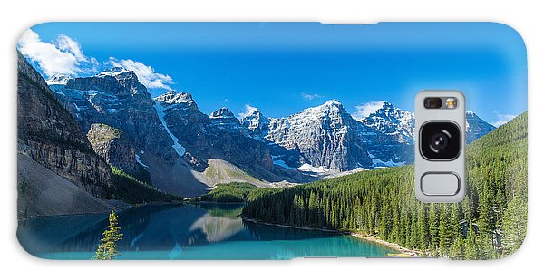 Moraine Lake At Banff National Park Galaxy Case