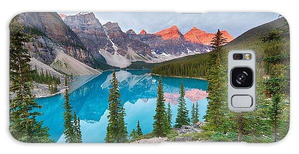 Moraine Lake Banff National Park Galaxy Case