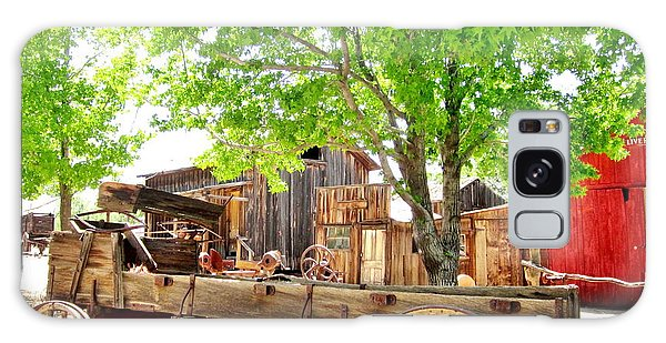More Old West  Galaxy Case by Marilyn Diaz