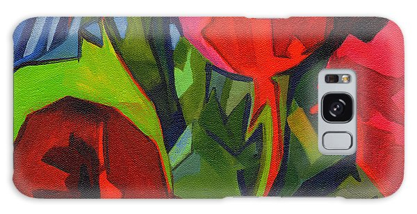 More Red Tulips  Galaxy Case