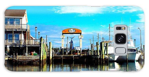 Morehead City Dock Galaxy Case