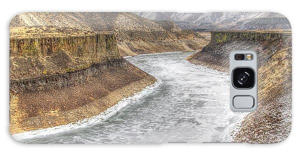 More's Creek Under Ice Galaxy Case