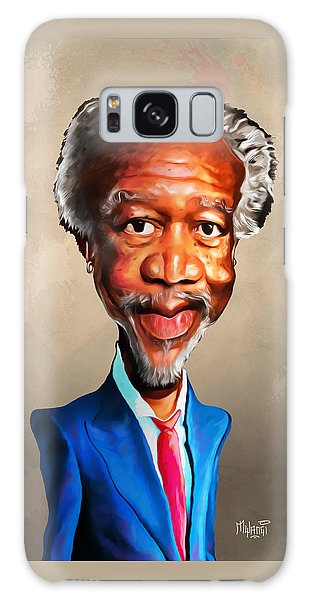 Morgan Freeman Galaxy Case by Anthony Mwangi