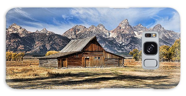 Mormon Row Barn Galaxy Case