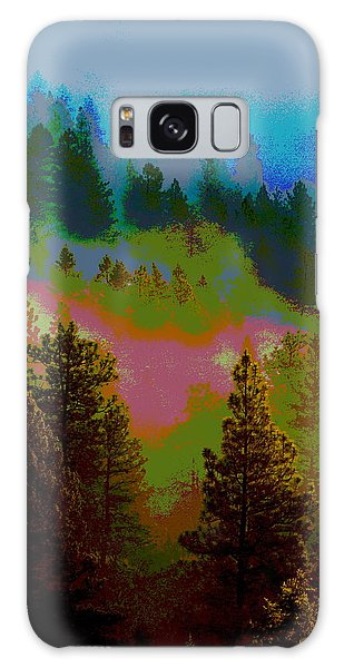 Morning Arrives In The Pacific Northwest Galaxy Case