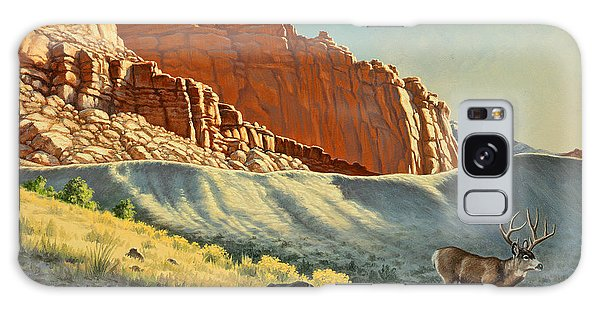 Buck Galaxy Case - Morning At Capitol Reef by Paul Krapf