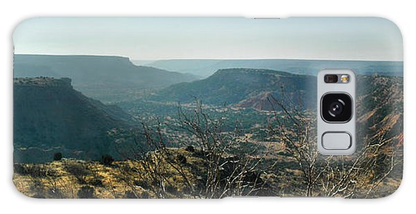 Morning At Palo Duro Galaxy Case