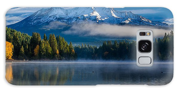 Morning At Siskiyou Lake Galaxy Case by Greg Nyquist