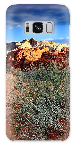 Morning At Snow Canyon State Park Galaxy Case