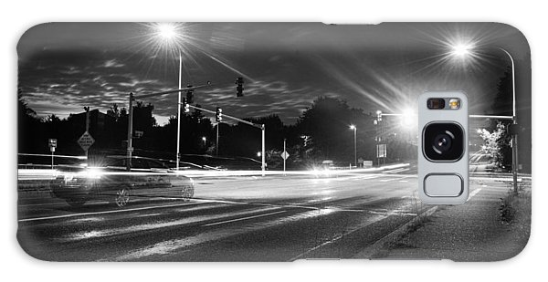 Morning At The Intersection Galaxy Case by John Rossman
