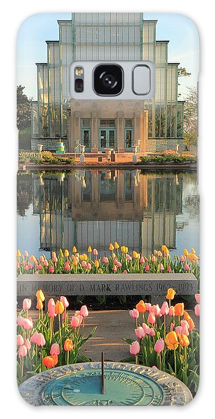 Morning At The Jewel Box Galaxy Case by Scott Rackers