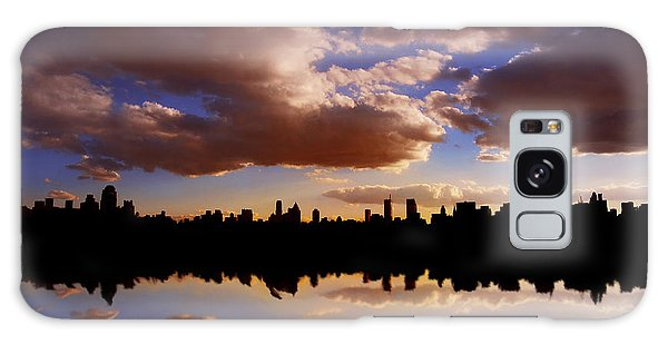 Morning At The Reservoir New York City Usa Galaxy Case by Sabine Jacobs