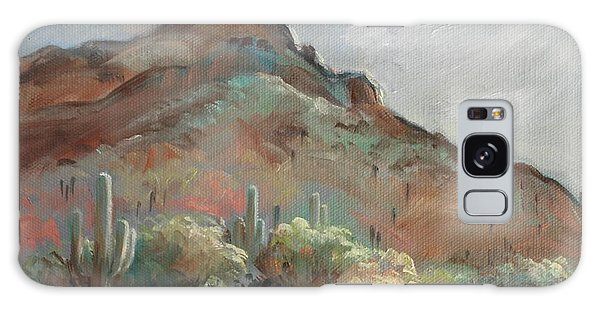 Morning At Usery Mountain Park Galaxy Case