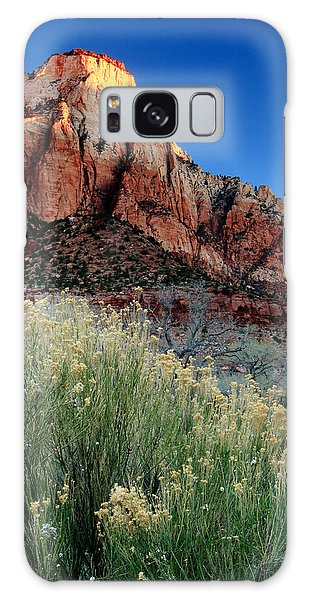 Morning At Zion National Park Galaxy Case