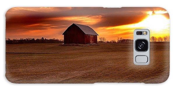 Morning Barn Galaxy Case by Randall  Cogle