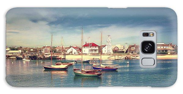 Morning Boats Nantucket Galaxy Case