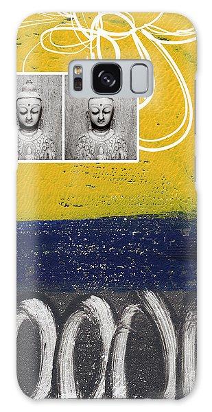 Buddha Galaxy Case - Morning Buddha by Linda Woods