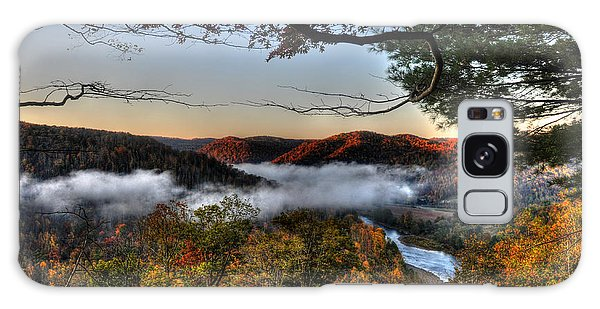 Galaxy Case featuring the photograph Morning Cheat River Valley by Dan Friend