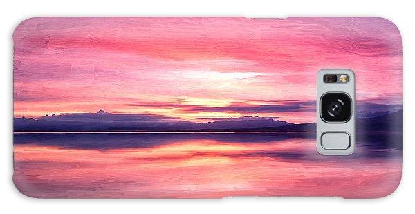Morning Dawn Galaxy Case by Michael Pickett