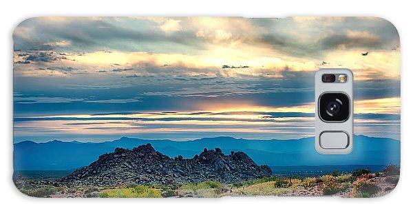 Morning Desert Glow Galaxy Case