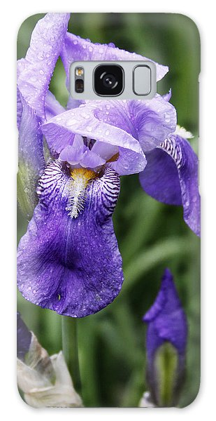 Morning Dew On The Iris Galaxy Case by Larry Capra