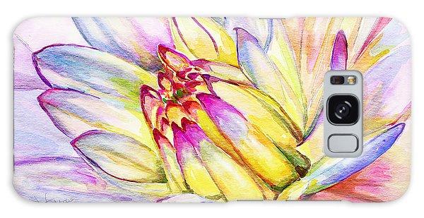 Morning Flower Galaxy Case by Janet Garcia
