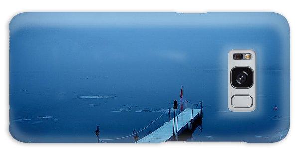 Morning Fog 001 - Skaha Lake 03-06-2014 Galaxy Case