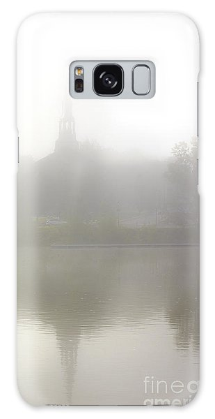 Morning Fog In Mont-saint-hilaire Galaxy Case