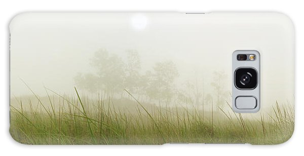 Morning Fog On The Dunes Galaxy Case
