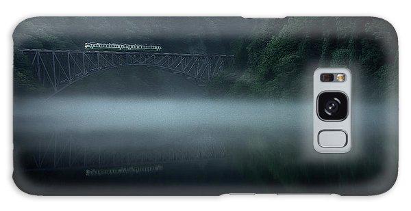 River Galaxy Case - Morning Fog by Takeru Watanabe